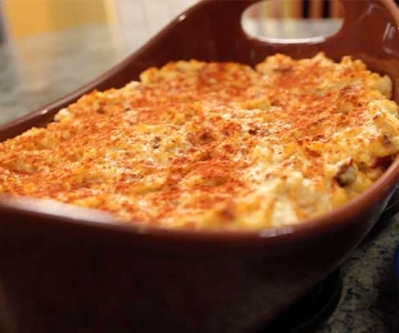Mashed Potato Stuffing Casserole